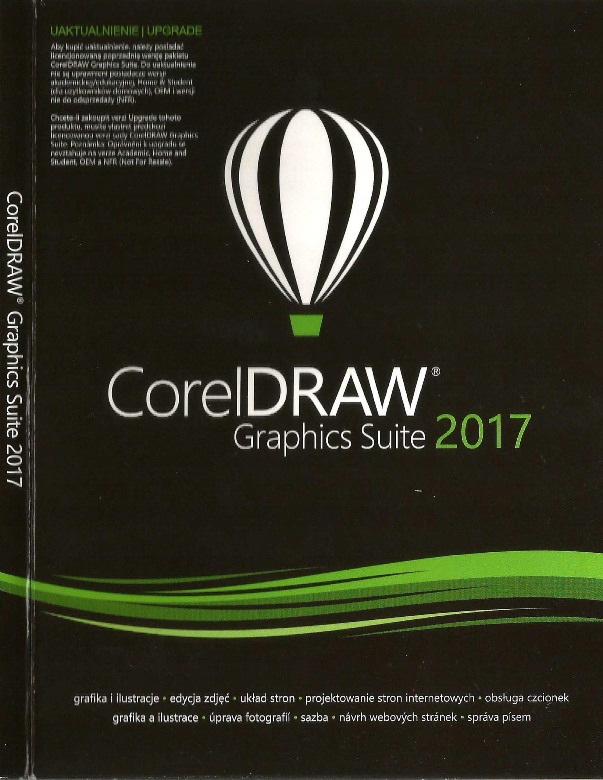 CorelDRAW Graphics Suite 2017 PL Corel Draw