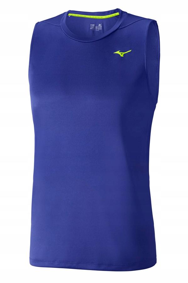 Koszulka Mizuno Core Sleeveless 4013T21 blue L