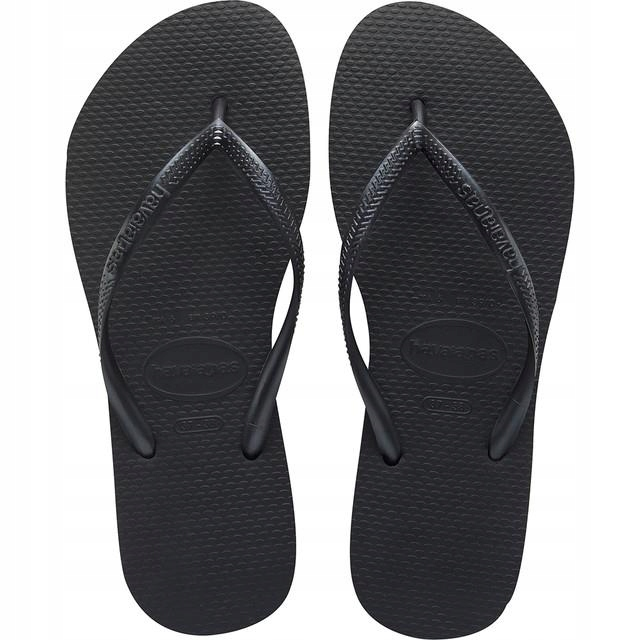 JAPONKI HAVAIANAS SLIM BLACK(H40000300090) 35/36