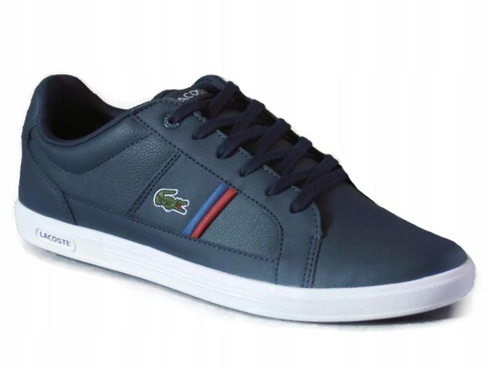 wyprzedaż resztek magazynowych oryginalne buty moda designerska BUTY LACOSTE EUROPA TCL SPM LTH/SYN (8DB4) r. 42 ...