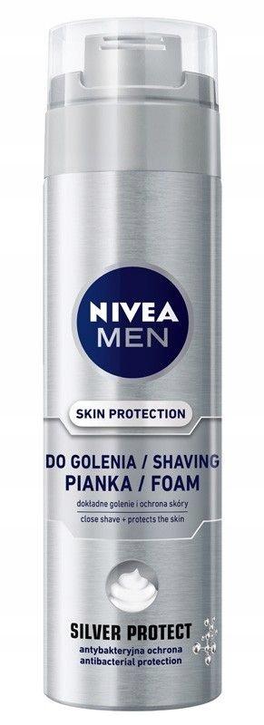 NIVEA MEN Pianka do golenia SILVER