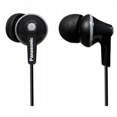 Dokanałowe słuchawki Panasonic RP-HJE125E-K czarne