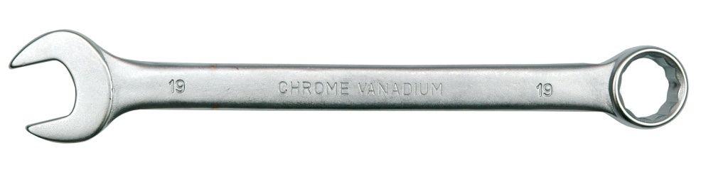 Klucz płasko-oczkowy c-v 12mm satyna 51677 VOREL