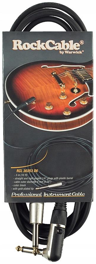 Markowy Kabel Gitarowy Warwick RockCable 3 m