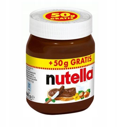 Nutella krem 450 + 50 g gratis DE
