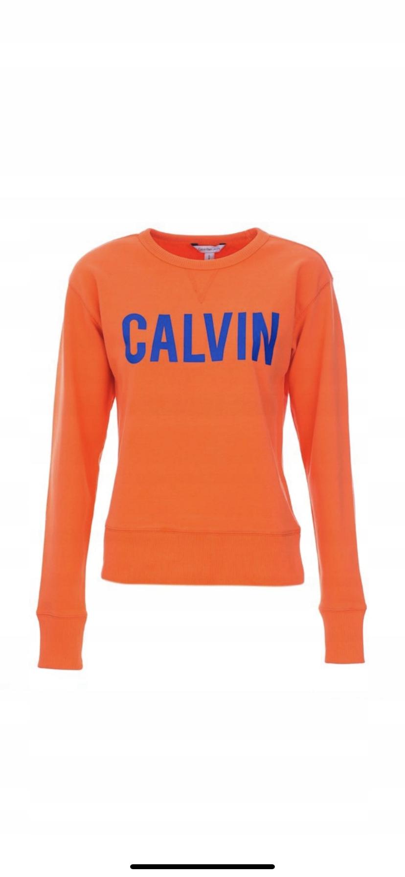 Bluza New ORYGINAL CALVIN KLEIN 42P6672 610 Orange