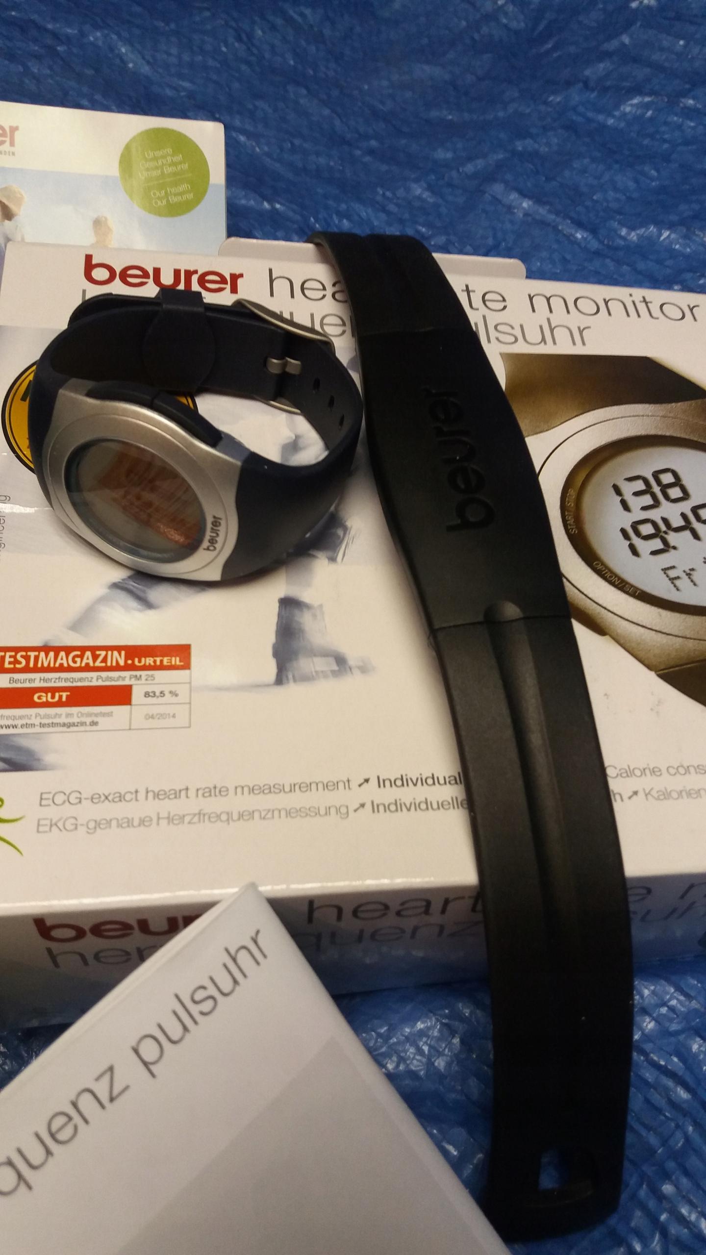 Zegarek sportowy Beurer PM25