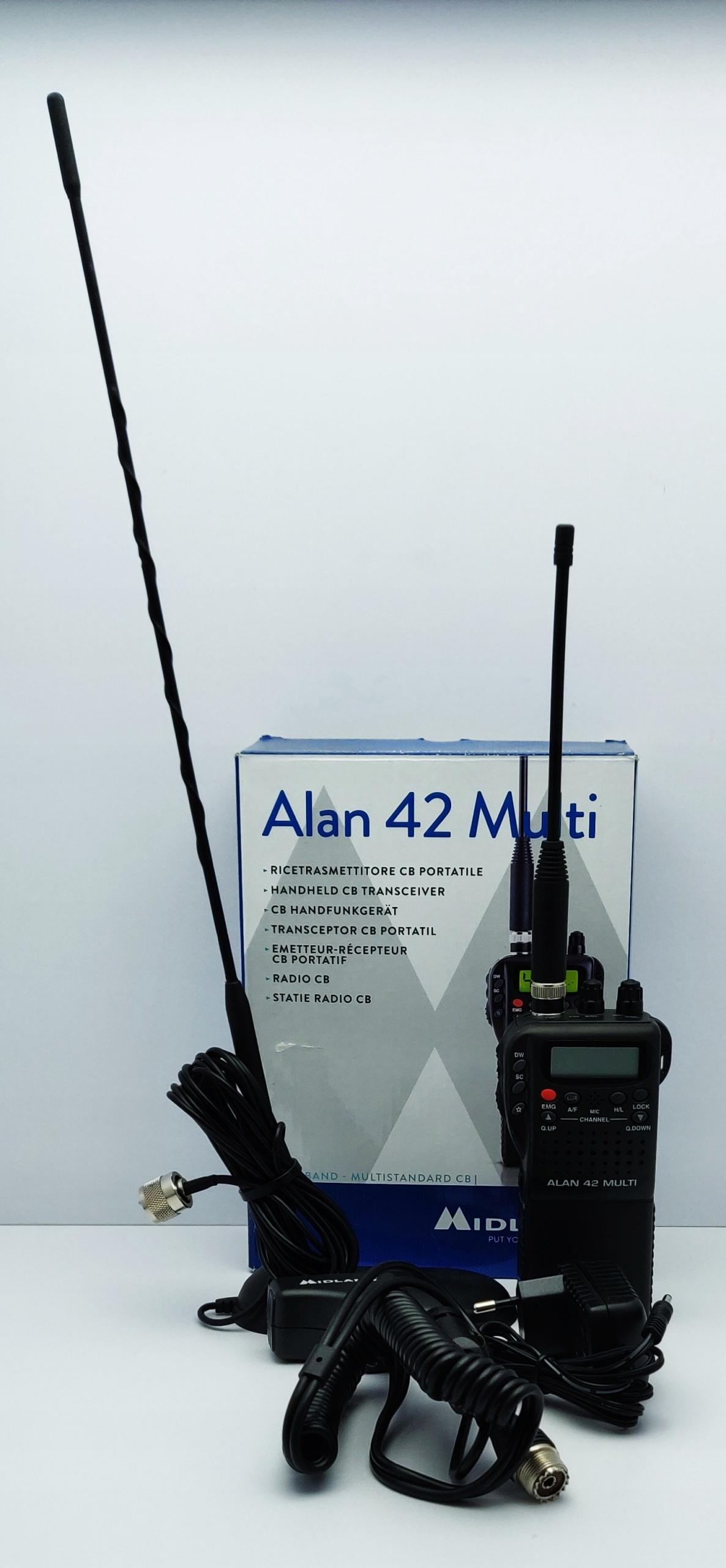 CB RADIO MIDLAND ALAN 42 MULTI LOMBARD66