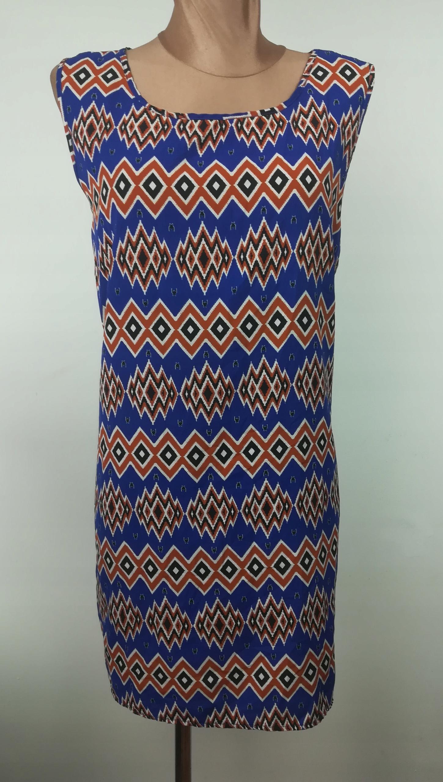 sukienka BOOHOO ASOS elegancka klasyczna wzory 40