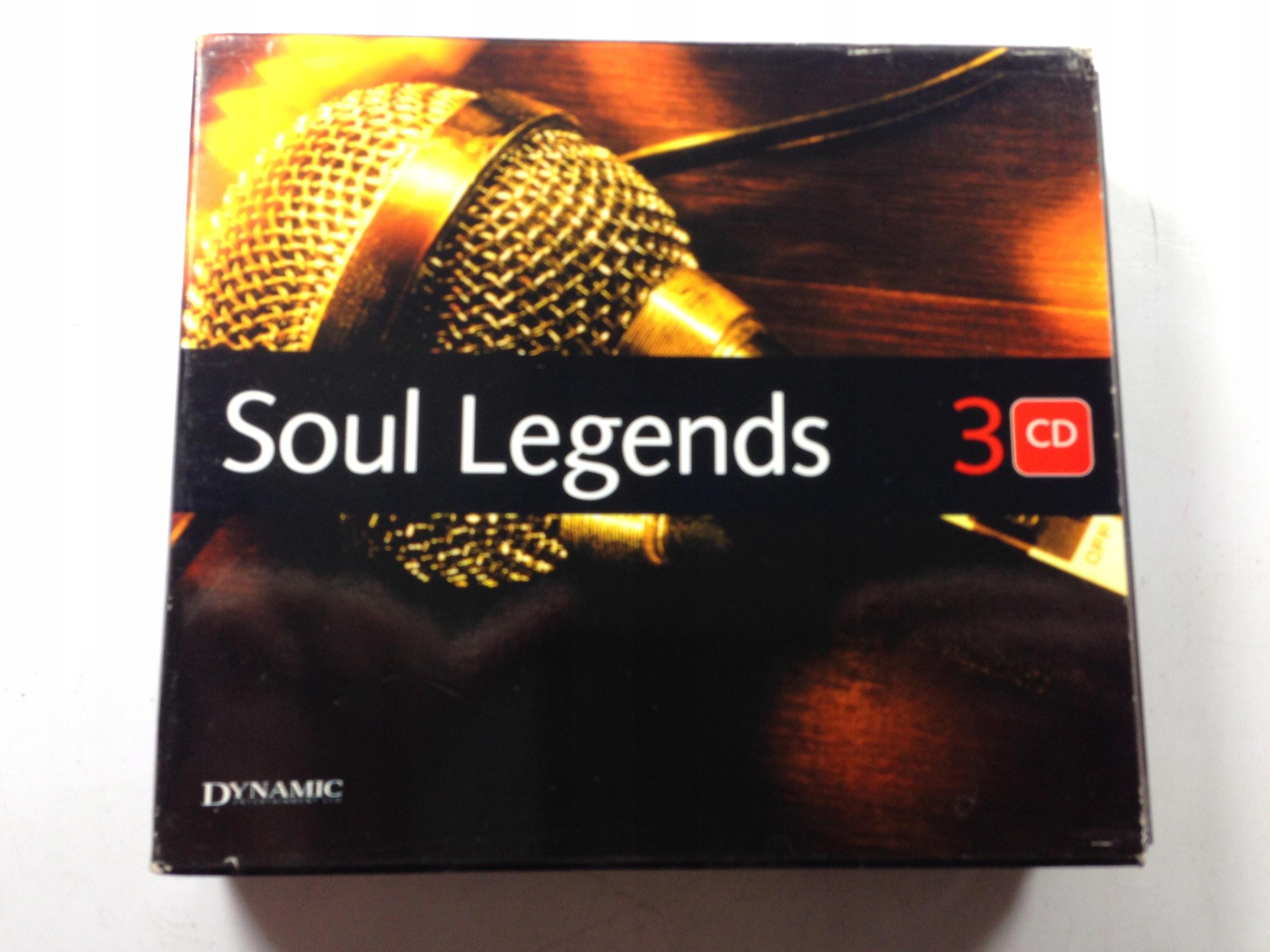 SOUL LEGENDS 3 CD