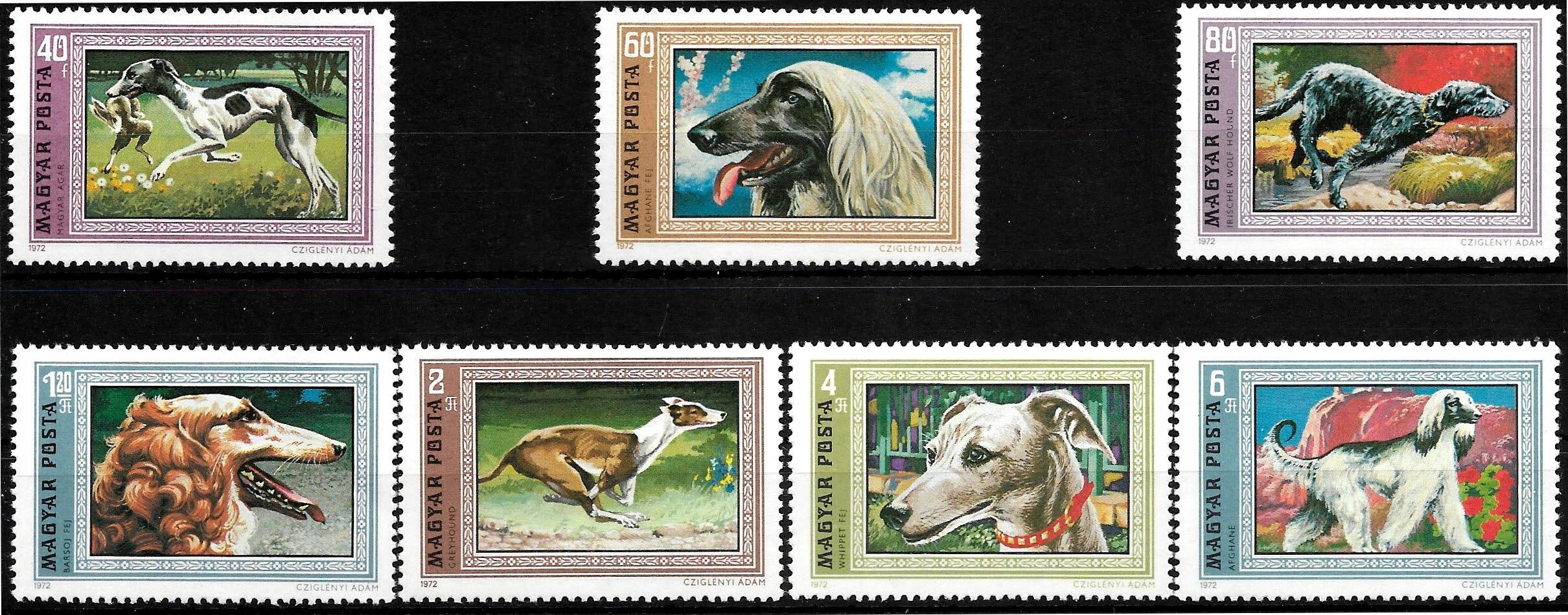 FAA016 1980 FAUNA ssaki psy zn.** Węgry