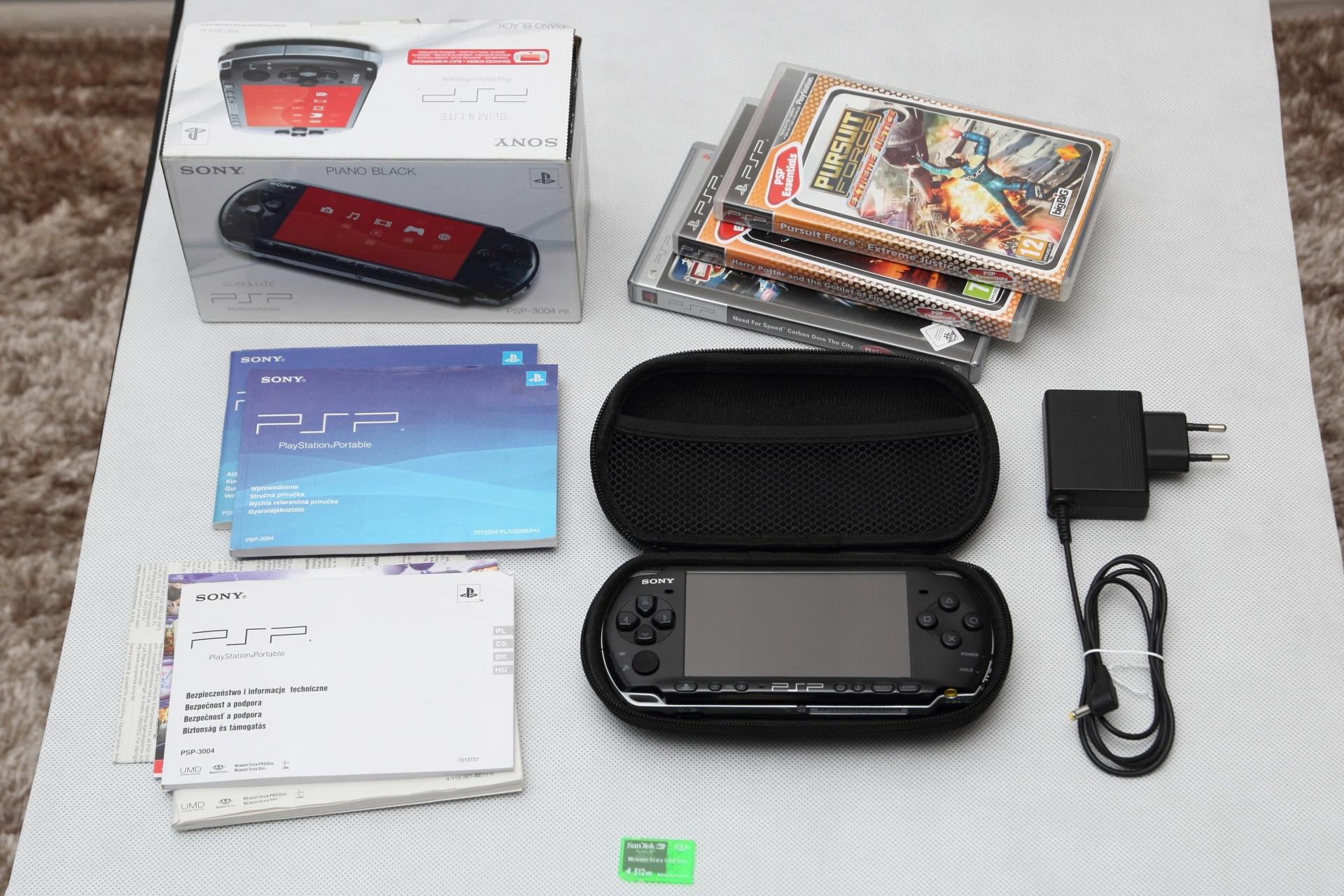SONY PSP 3004 BLACK SUPER STAN