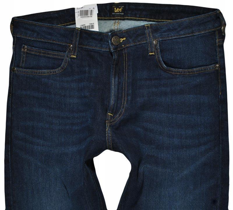LEE spodnie SKINNY regular jeans MALONE _ W30 L32