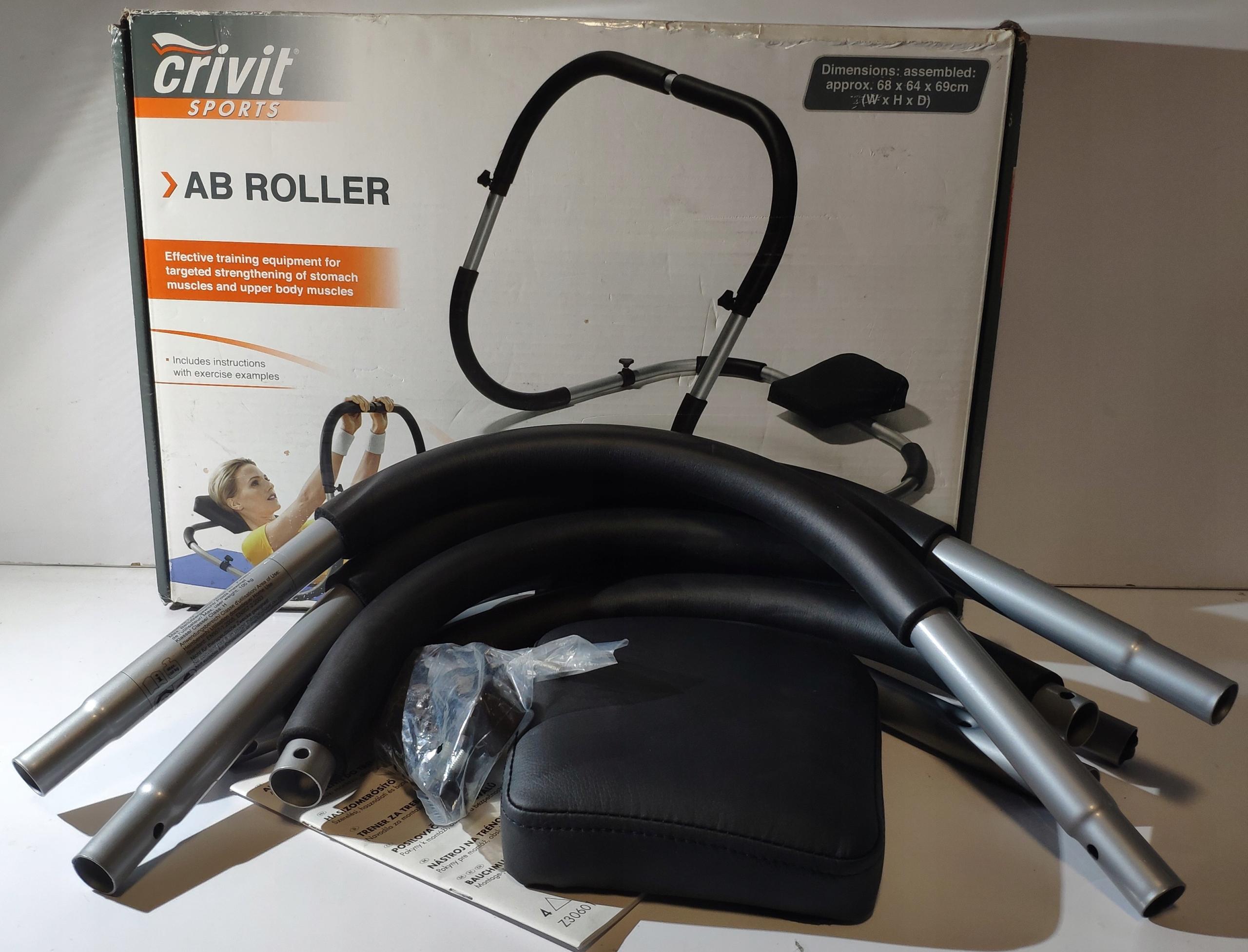 Crivit Ab Roller kołyska do ćwiczeń brzuszków
