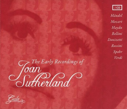 CD Sutherland, Joan - Early Recordings Of Alcina/L