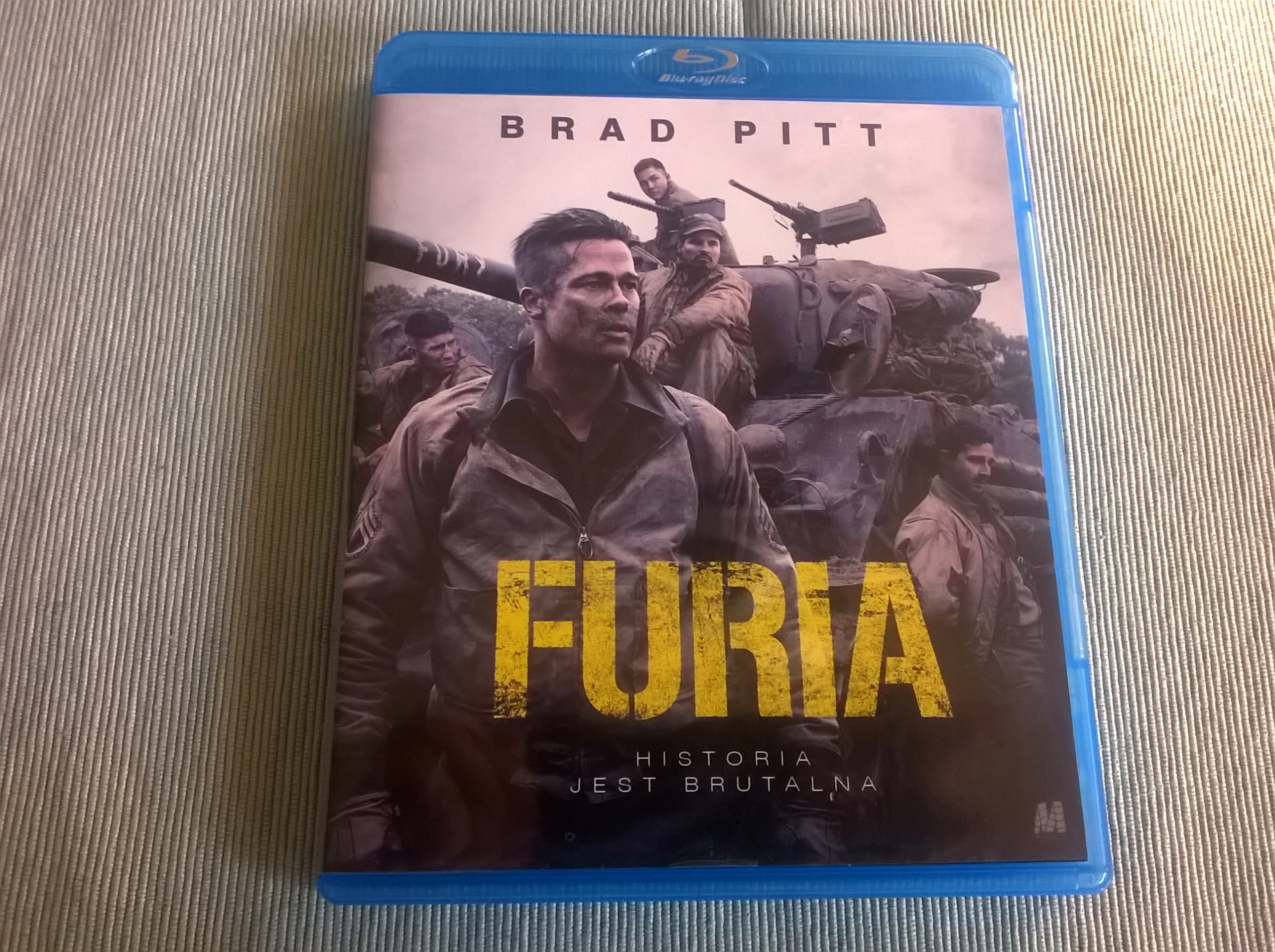 FURIA (2014) Brad Pitt