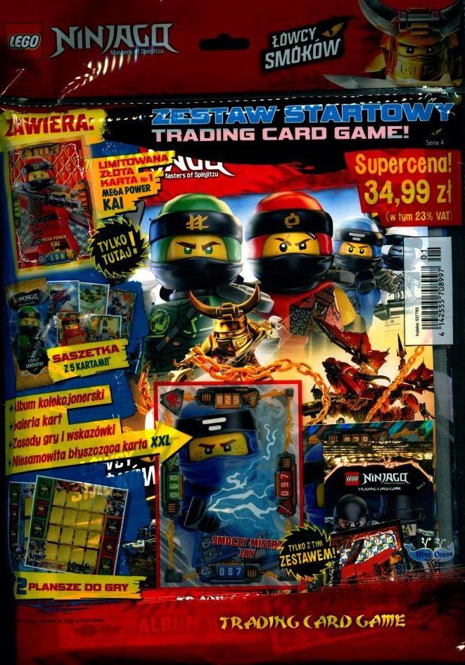 Ogromny ZESTAW STARTOWY z kartami LEGO NINJAGO seria 4 - 7795743614 XZ49