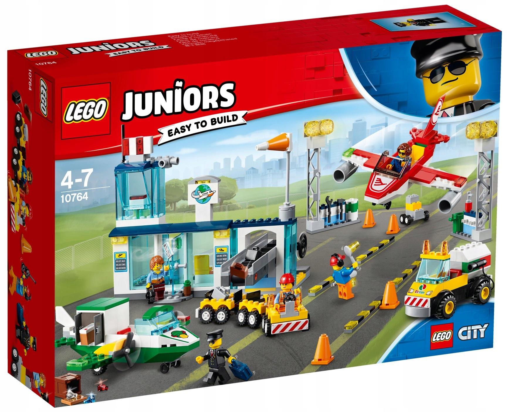 Lego Juniors City 10764 Lotnisko Sklep Wrocław 7369749758