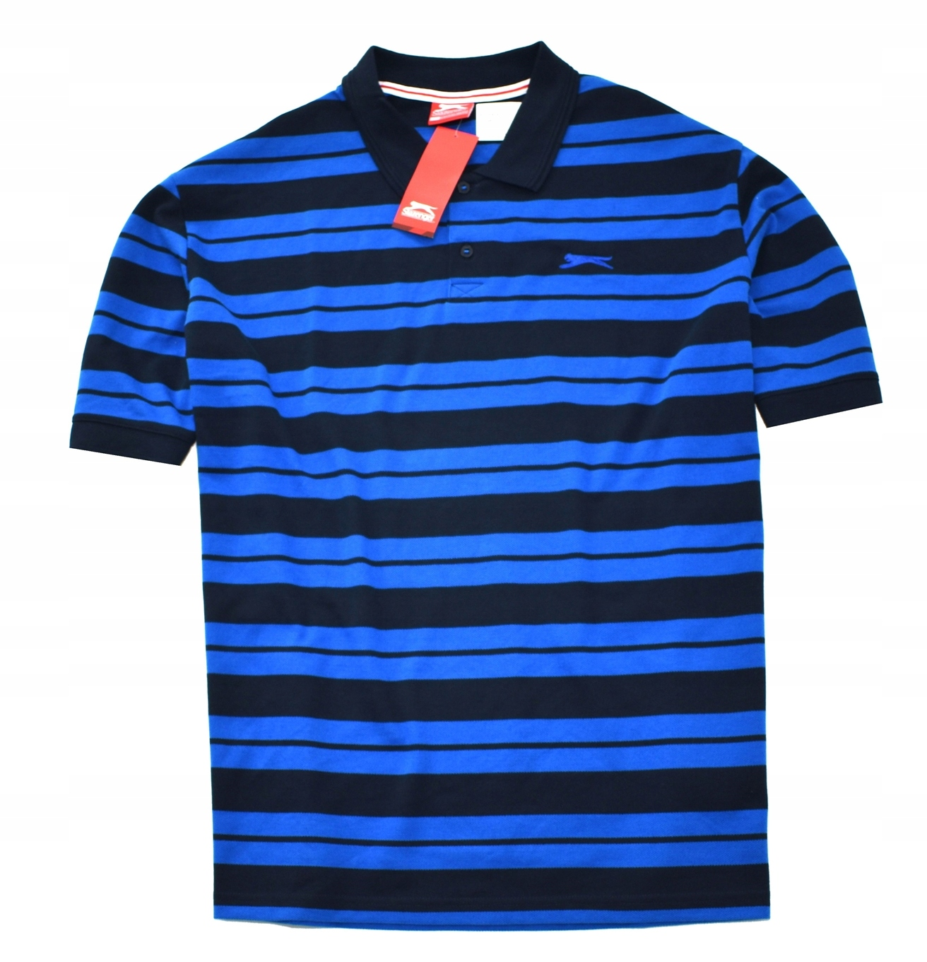 MM 90 SLAZENGER_TRENDY NEW STRONG BLUE TEE_XXXXL
