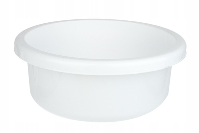 BENTOM Miska okrągła 6.2 L biała