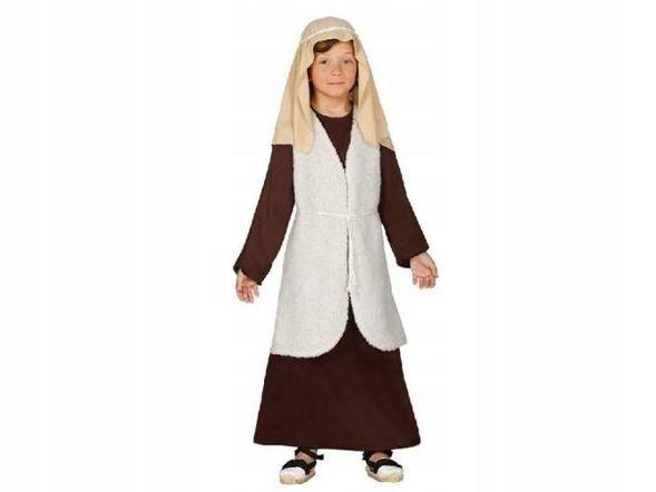 Pastuszek brązowy z kamizelką 7-9 lat - kostiumy