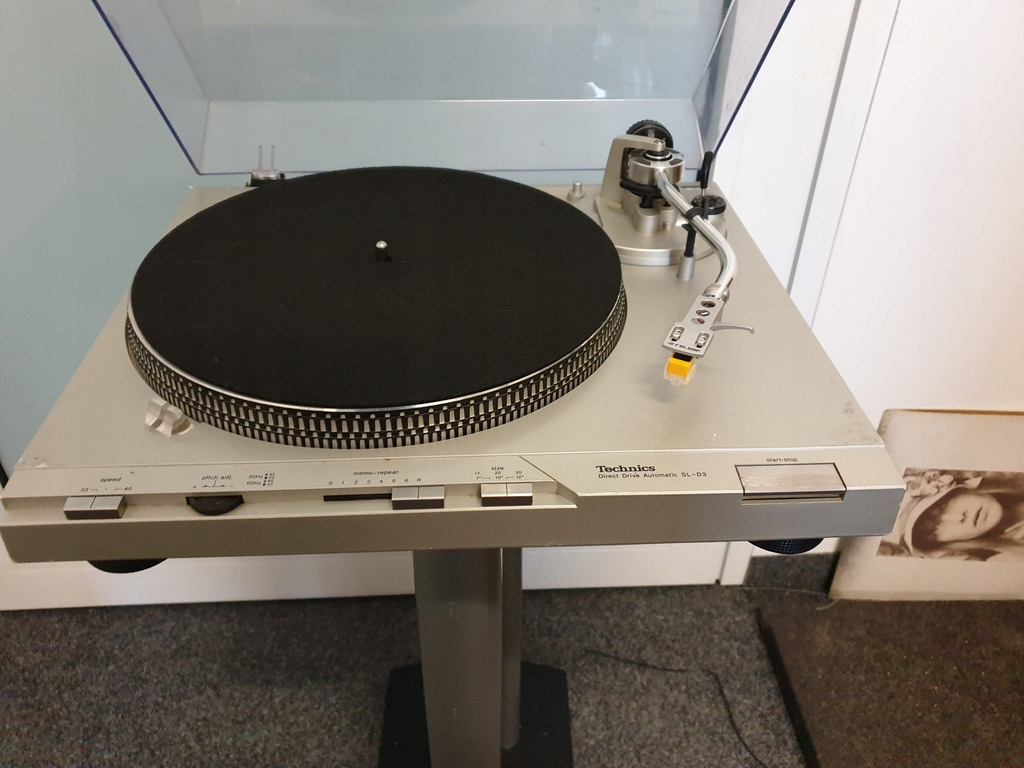 Flagowy gramofon TECHNICS SL-D3 ! Direct Drive !