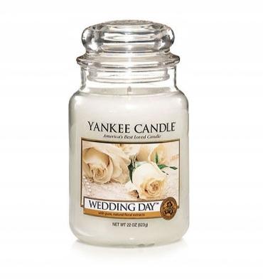 Yankee Candle WEDDING DAY duża świeca zapachowa