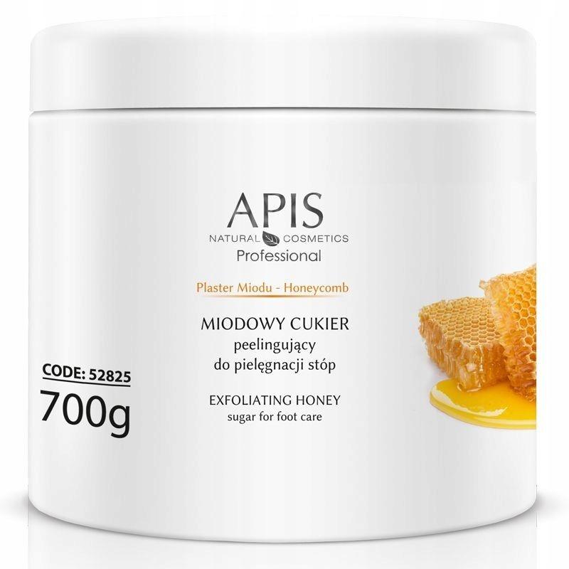 APIS Plaster Miodu miodowy cukier peelingujący do