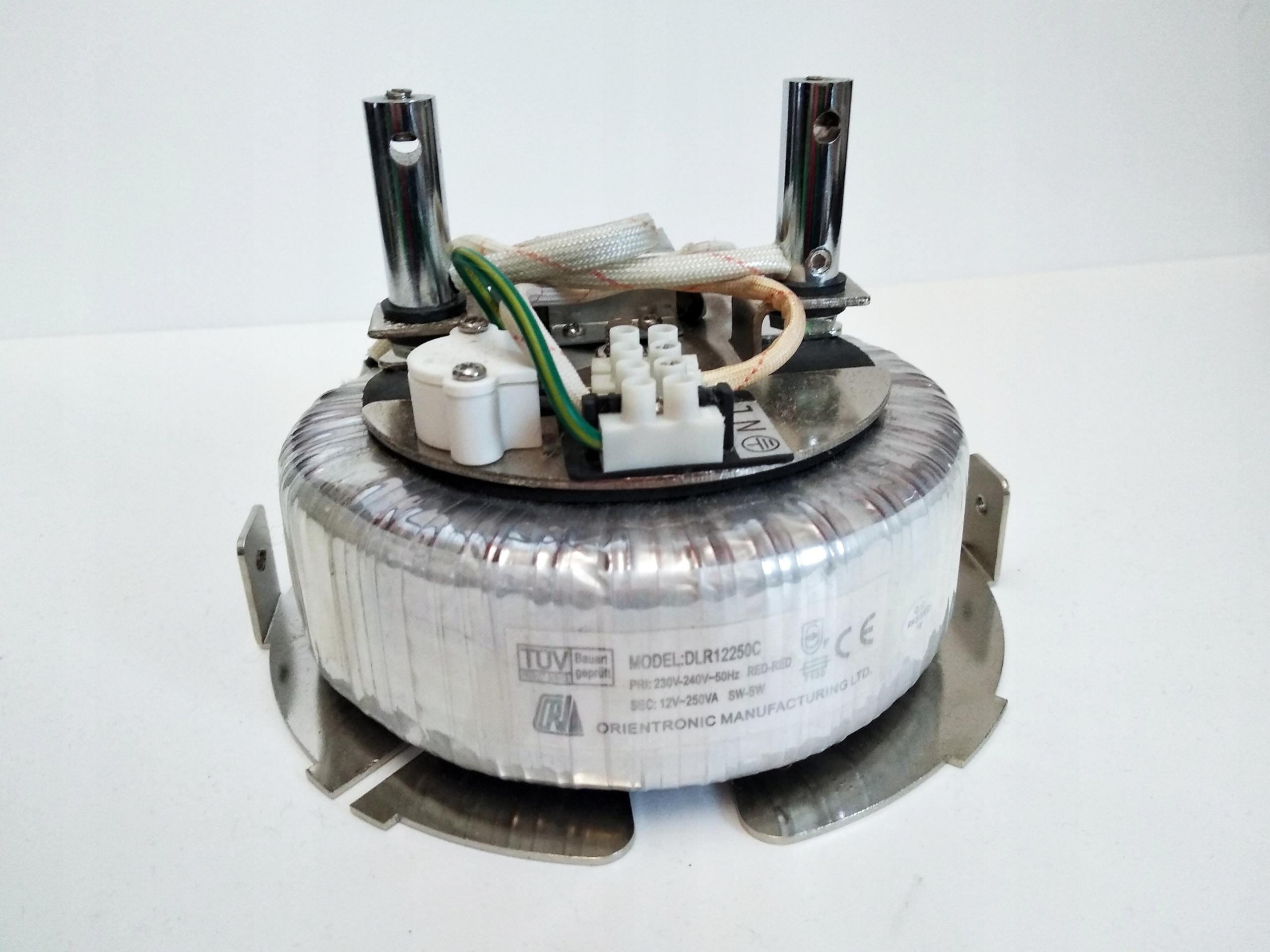 Transformator toroidalny 230V / 12V 250VA toroid