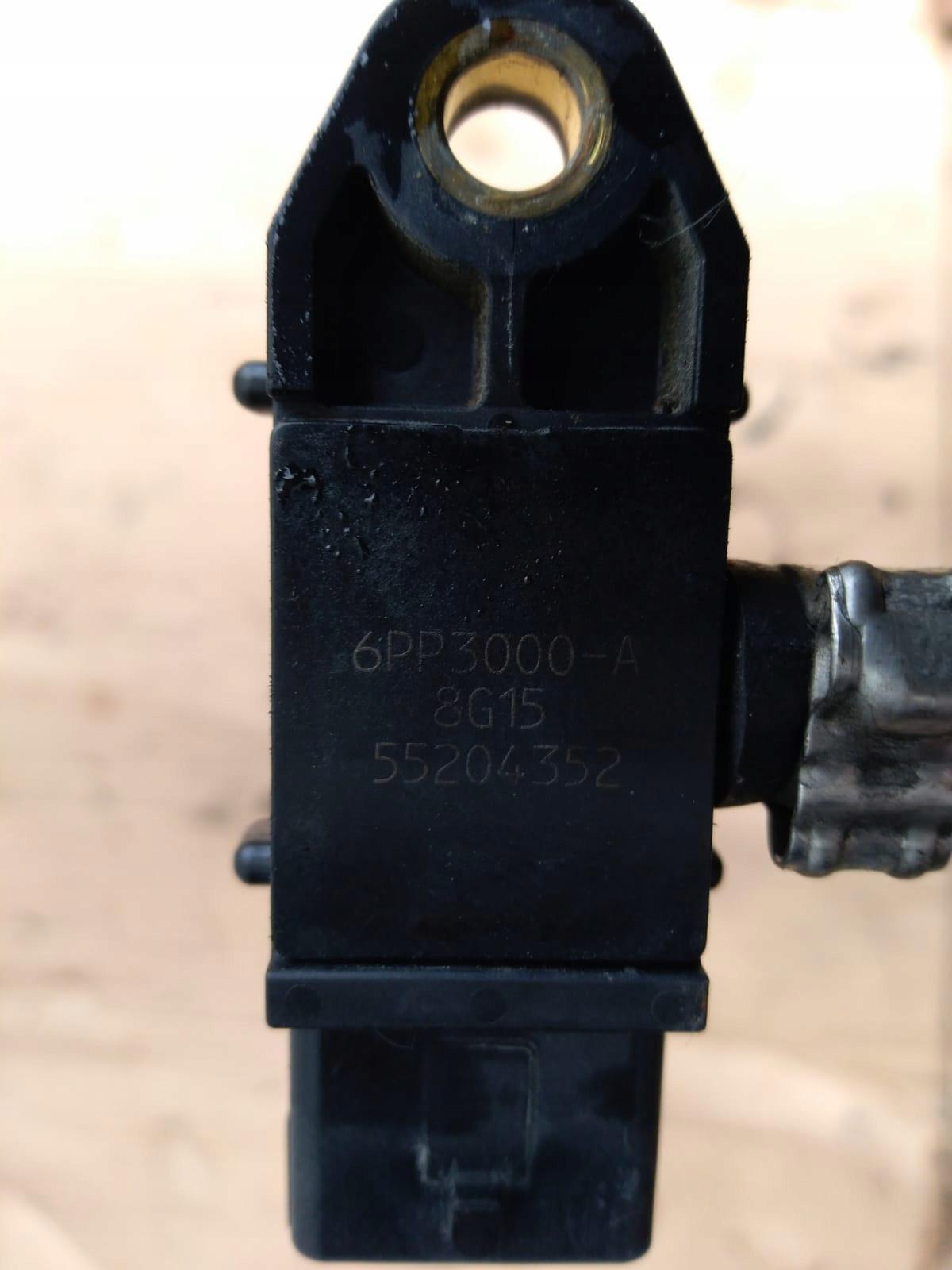Alfa 159 1.9jtdm czujnik cisnienia spalin 55204352