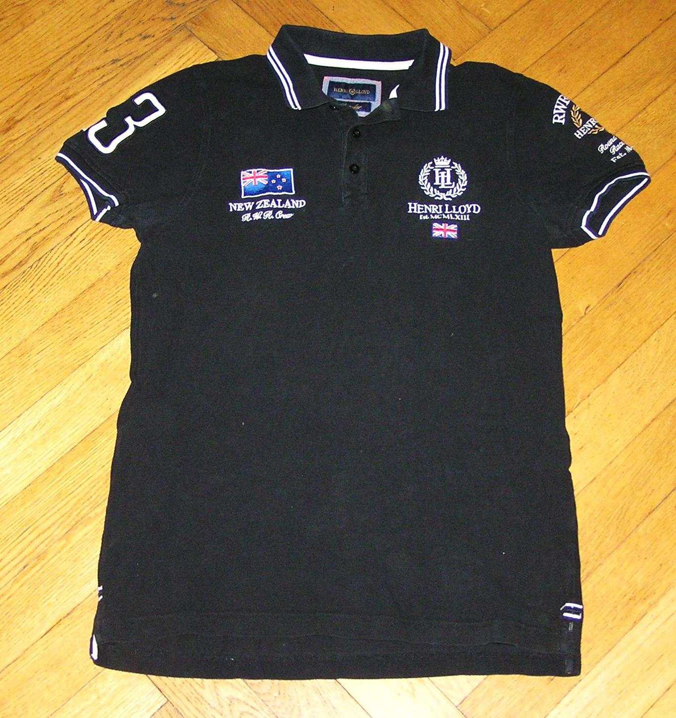 Polo HENRI LLOYD NEW ZELAND TEAM S/XS J.NEW !