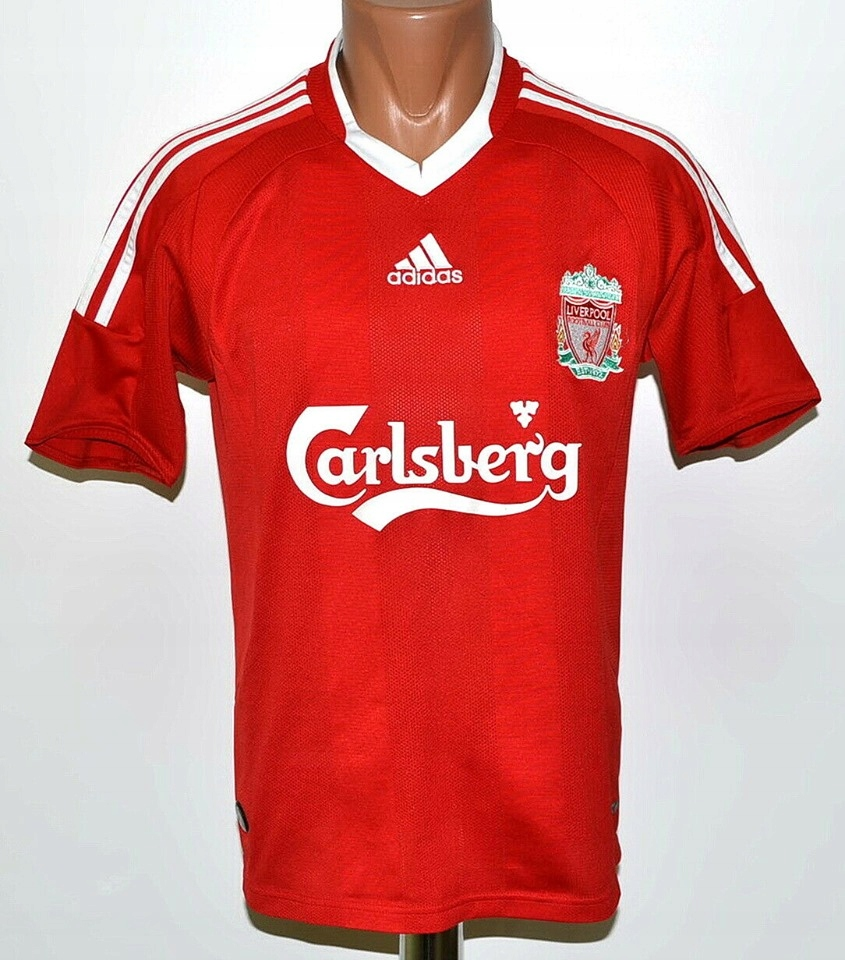 Liverpool FC 2007/08 Football Shirt 9 Torres XXL