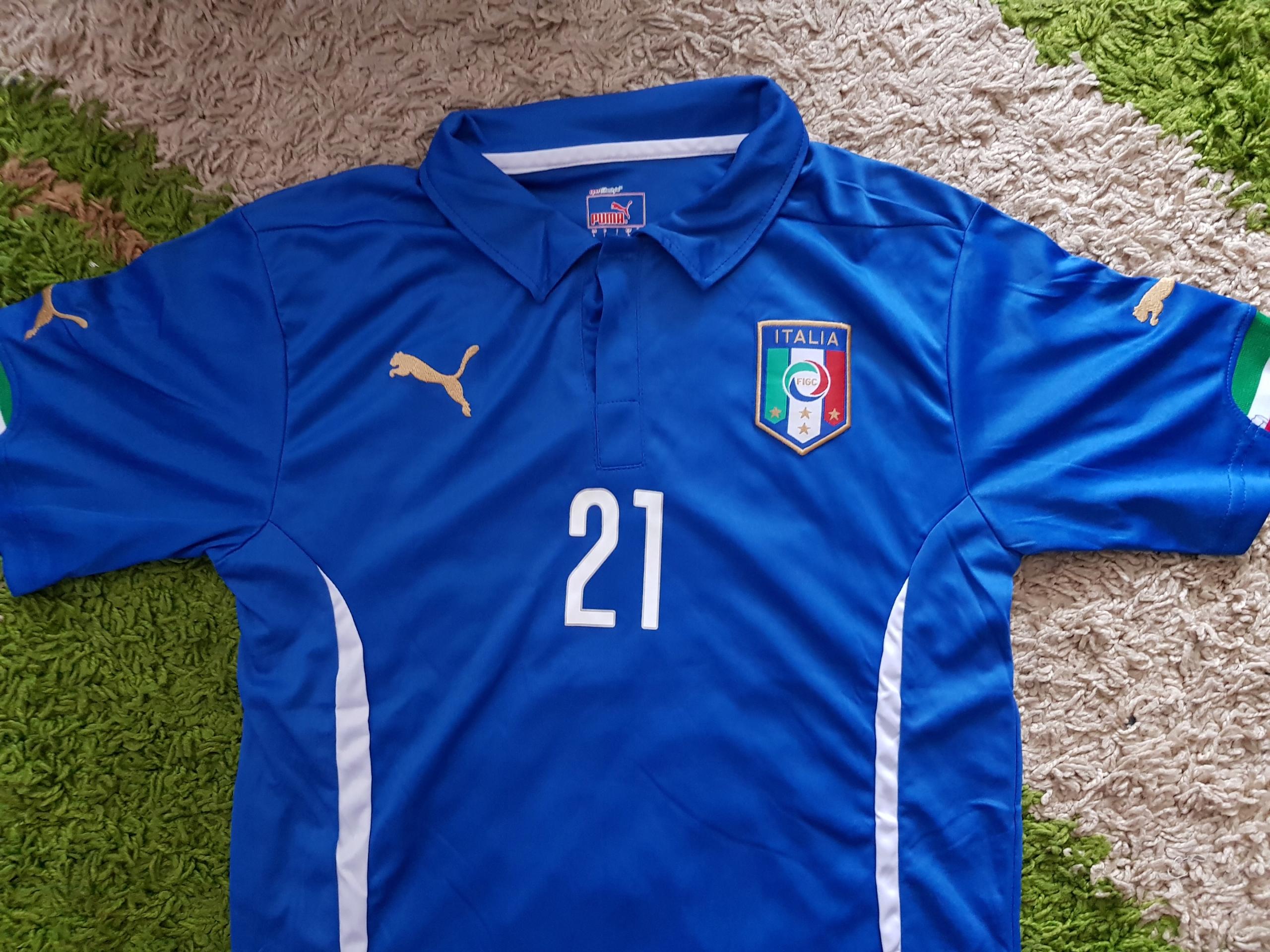 ITALIA WLOCHY PUMA 21 PIRLO L WORLD CUP 2014