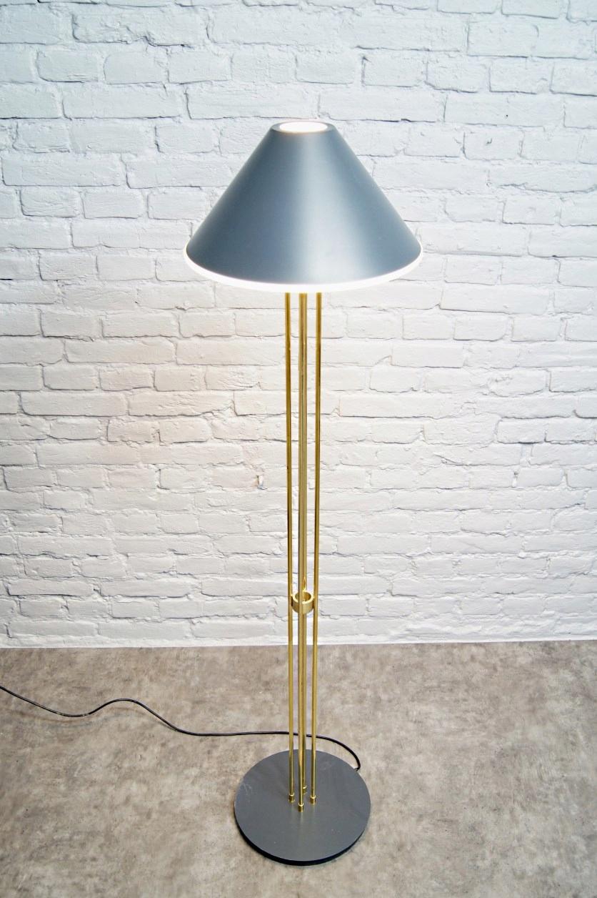 Modernistyczna LAMPA stojąca, Limburg, lata 70
