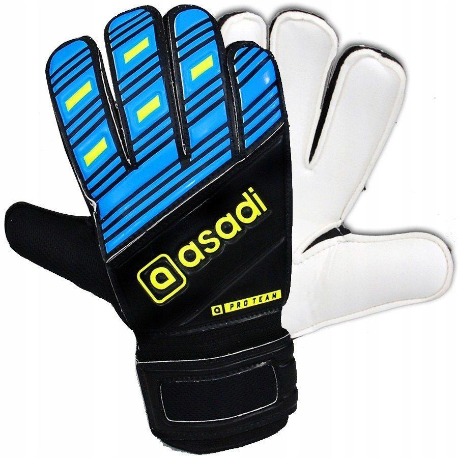 Rękawice Asadi Pro Team MODEL 011 niebieski 5