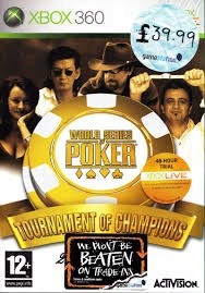 XBOX 360 WORLD SERIES OF POKER TOURNAMENT OF CAHMP