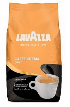KAWA ZIARNISTA LAVAZZA CAFE CREMA DOLCE 1KG