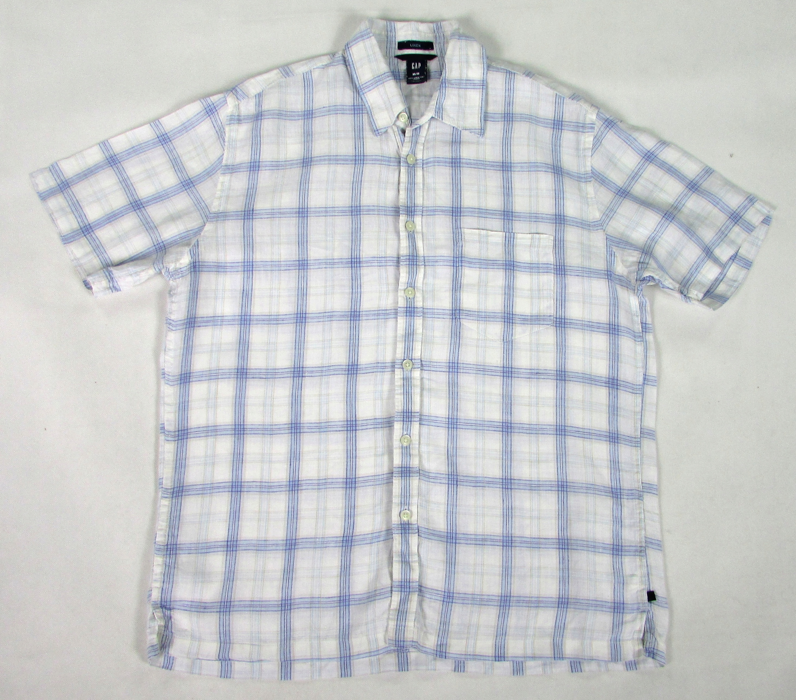 ** GAP **_M_Rewelacyjna koszula_100% LEN