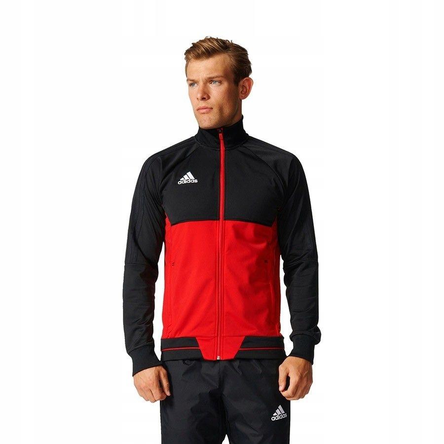 Bluza adidas Tiro 17 BQ2596 - CZERWONY; XXL