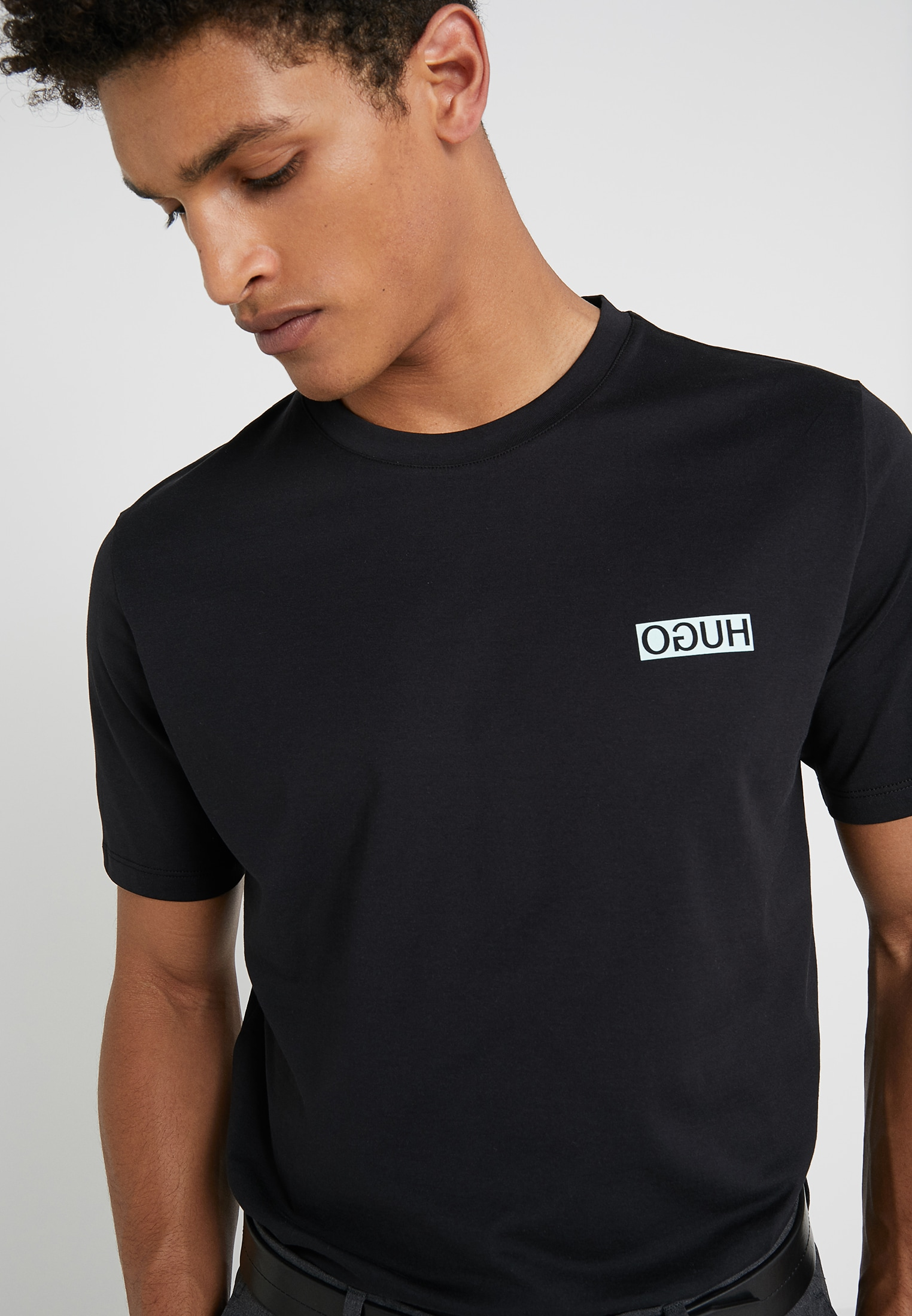HUGO BOSS DURN t-shirt czarny L