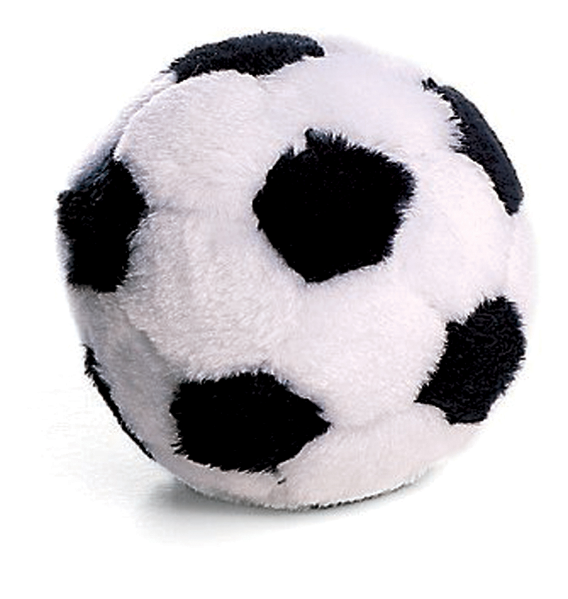 Pluszowa piłka futbolowa dla psa #4225