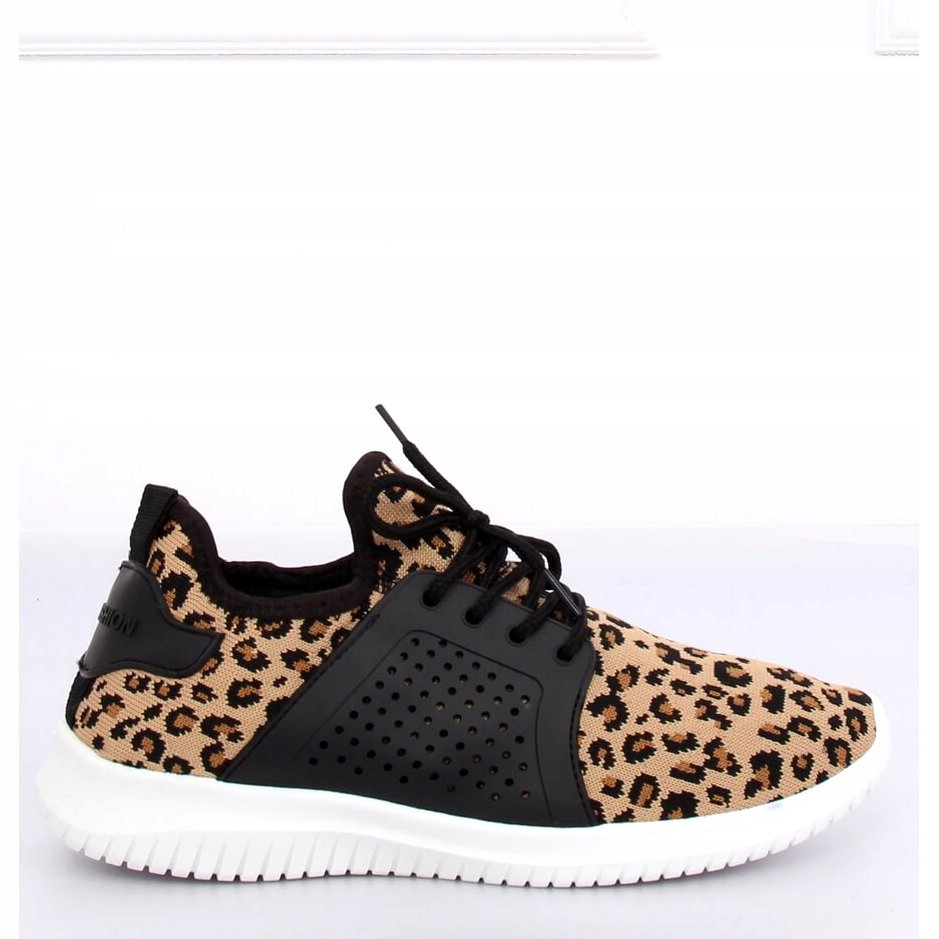 Buty sportowe leopard 7758 Y Leopard Print r.41