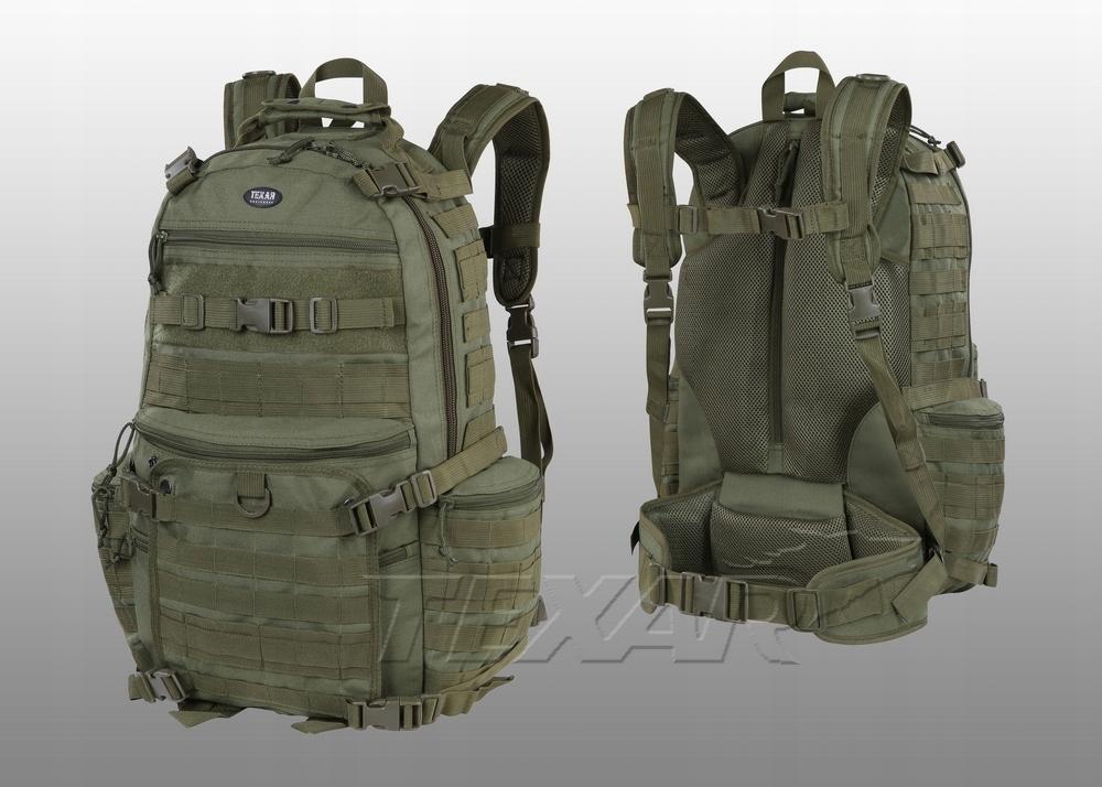 Plecak wojskowy turystyczny Bravo zielony Texar 50