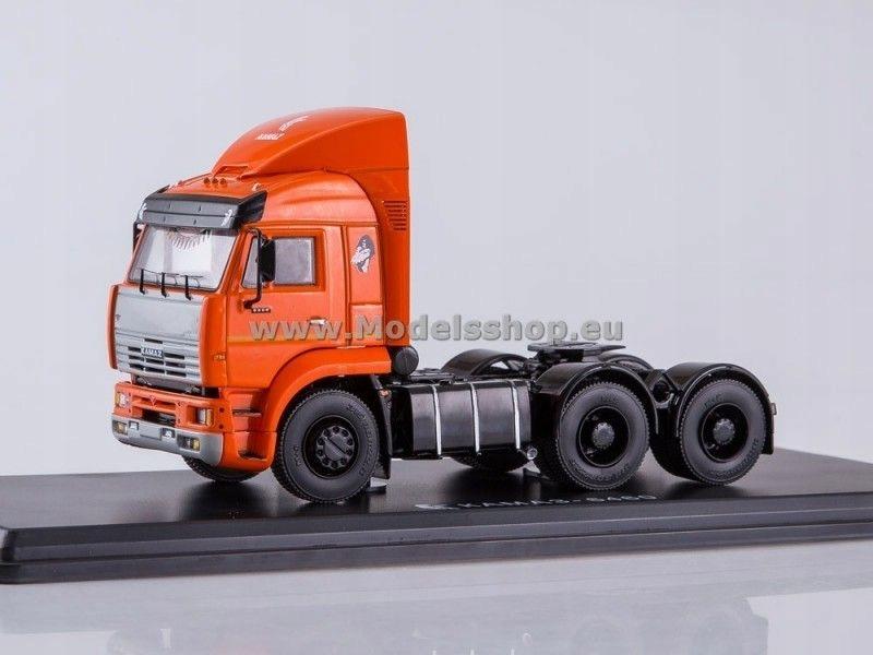 KAMAZ-6460 Tractor Truck with Spoiler (orange)