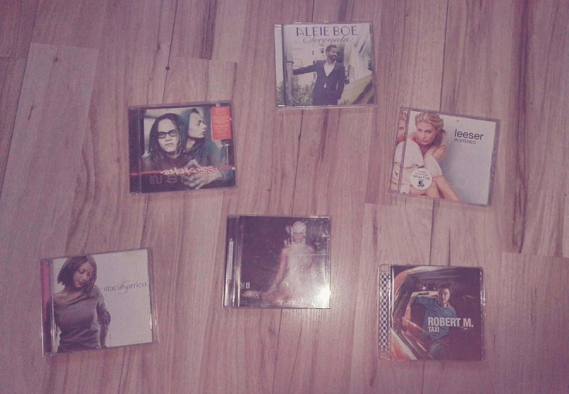 Zestaw extra płyt CD - pop, dj, klasyka, electro