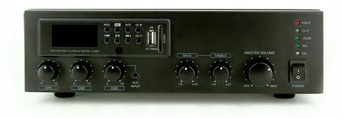 ArtSound MX60M Wzmacniacz Miksujący 100V