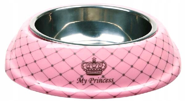 Trixie Miska nierdzewna My Princess Psa Kota 0,15l