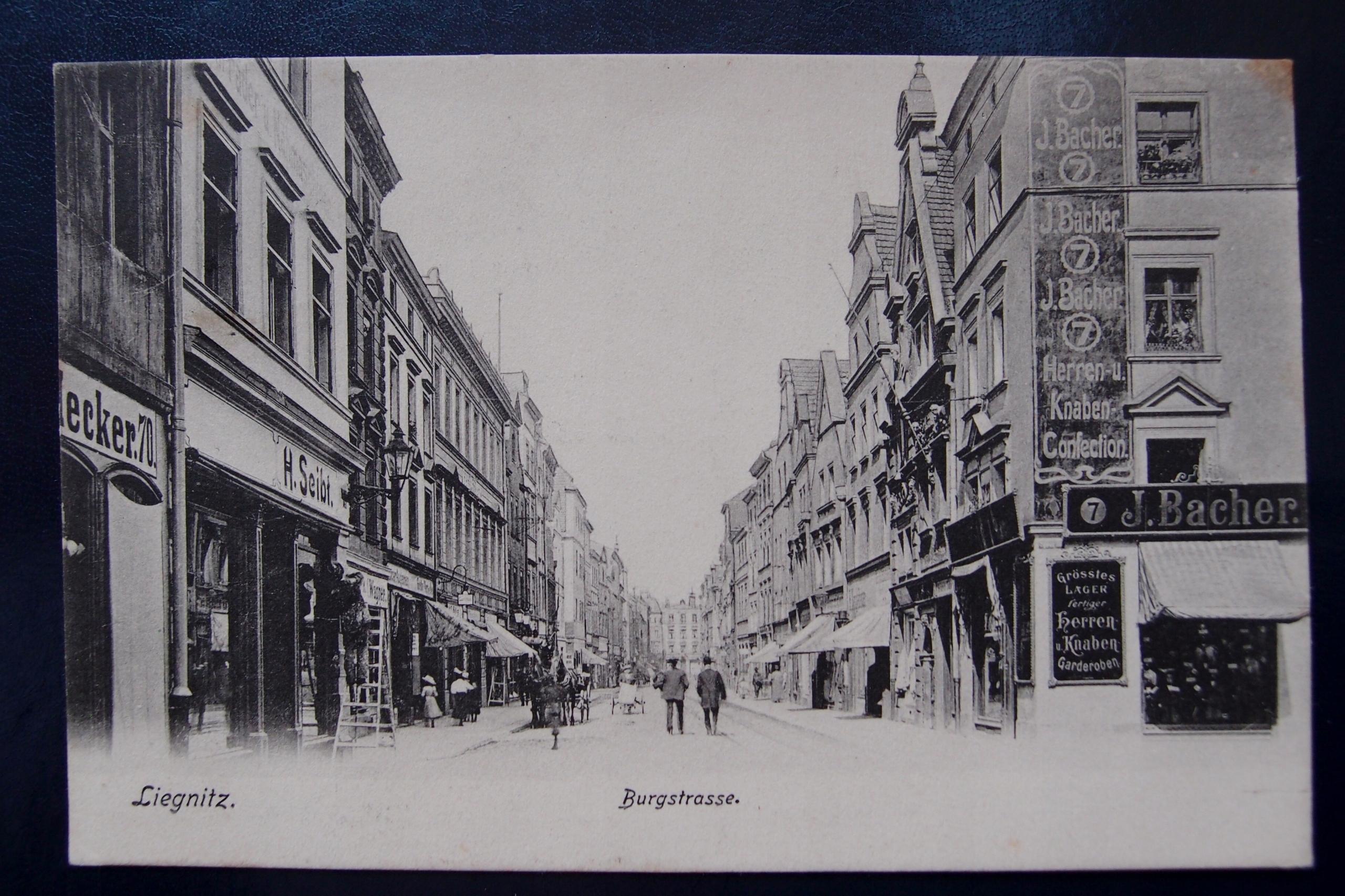 LEGNICA Burgstrasse 1906r.