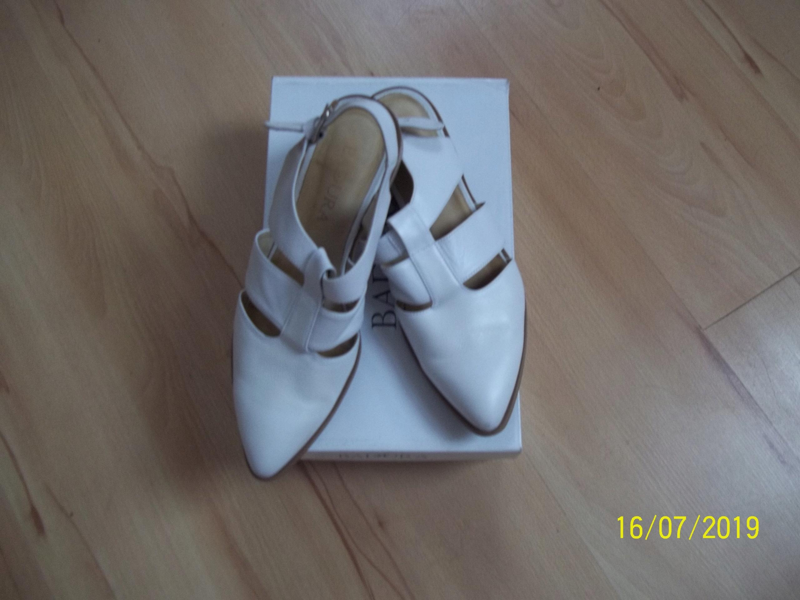 sandały skórzane BADURA rozmiar 40
