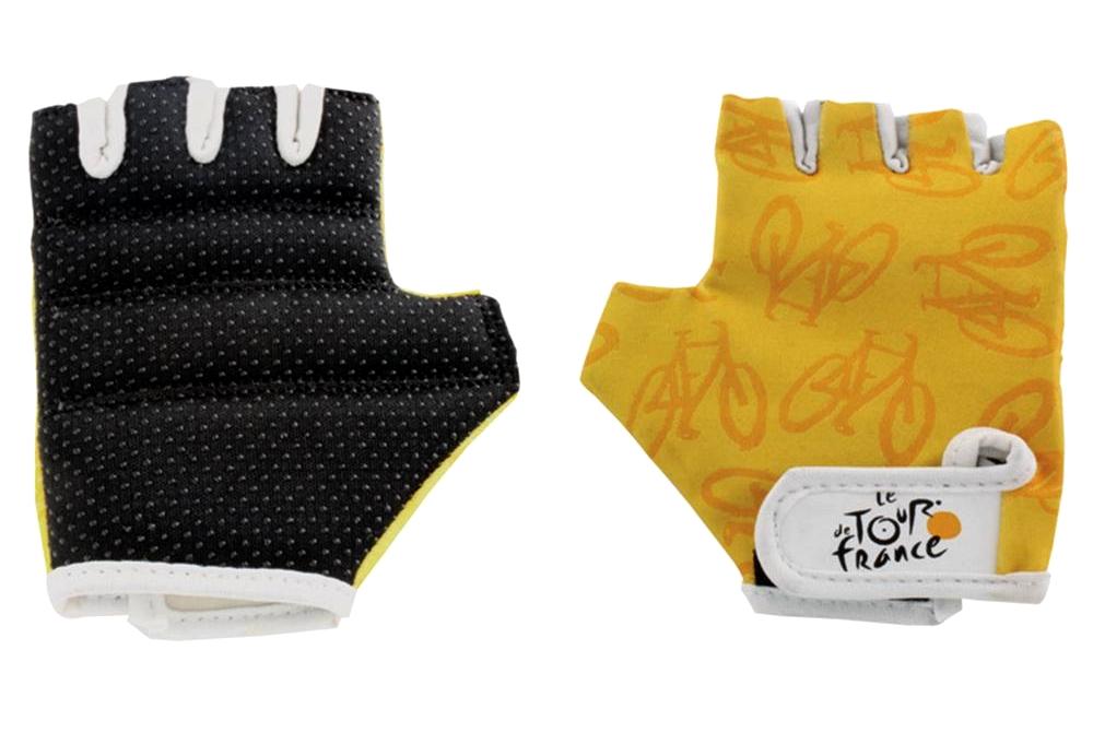 Rękawiczki dziecięce TDF Tour de France XS lycra